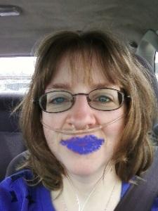 BLUE LIP CHALLENGE